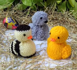 Ducklings & Cygnet - Easter Egg Covers