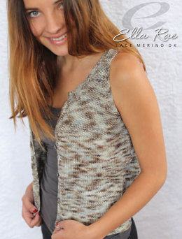 Hetty Top in Ella Rae Lace Merino DK - ER17-01 - Downloadable PDF