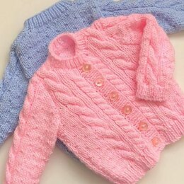 Dinky Dots Cable Cardigan