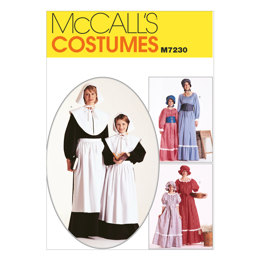 McCall's Misses' and Girls' Costumes M7230 - Sewing Pattern