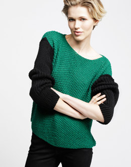 Primo Pullover in Wool and the Gang Shiny Happy Cotton