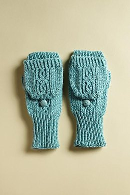 Forget-Me-Not Mittens