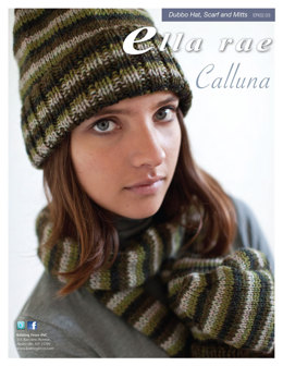 Dubbo Hat, Scarf & Mitts in Ella Rae Calluna - ER02-03 - Downloadable PDF