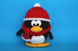 Wintery Christmas Penguin