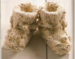 Lullaby Baby Booties