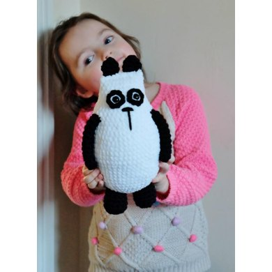 Crochet Panda Crochet Pattern By Kornflakestew Knitting Patterns