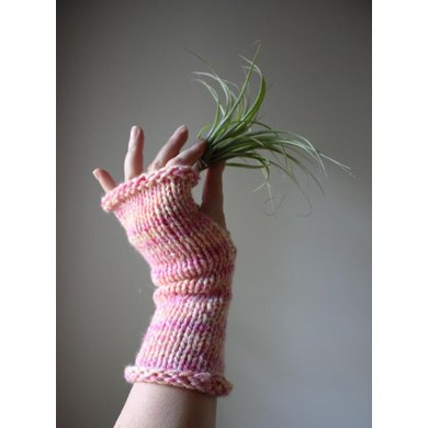 Longue Fingerless Mittens or Mitts