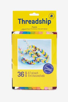 DMC Threadship 6-Strand Cotton 36 Skein Pack