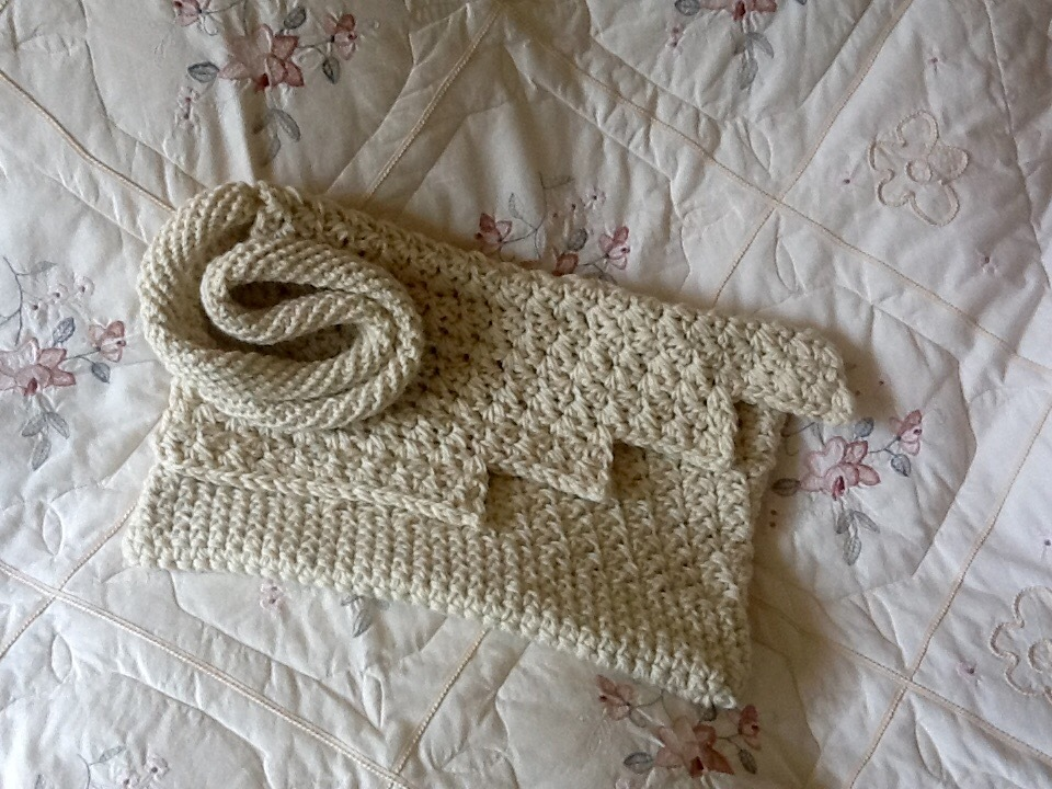 The Iceland Glacier Inspired Tote Bag Crochet Project By