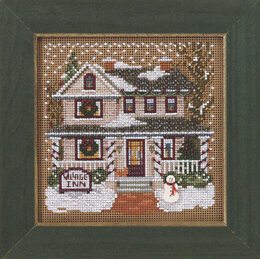 Mill Hill Village Inn Cross Stitch Kit