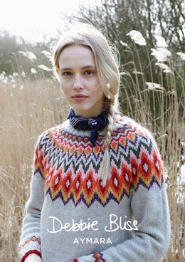Juno Sweater in Debbie Bliss Aymara - DB213 - Downloadable PDF