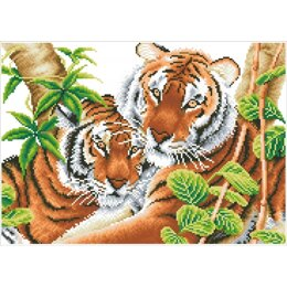 Diamond Dotz Tender Tigers Kit
