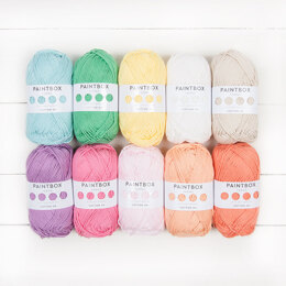 Paintbox Yarns Cotton DK 10 Ball Color Pack Designer Picks