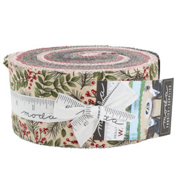 Moda Fabrics Winter Manor 2.5in Strip Roll