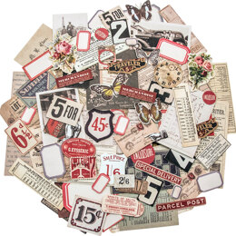Advantus Idea-Ology Ephemera Pack 111/Pkg - Snippets Tiny Die-Cuts