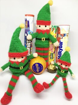 Christmas Elf Smartie tube, chocolate orange etc