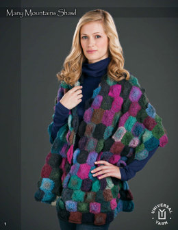 Many Moutains Shawl in Wisdom Yarns Poems - Downloadable PDF