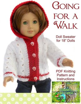 Going For A Walk for AG and 18'' Dolls