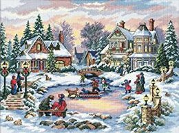 Dimensions A Treasured Time Cross Stitch Kit - 41 x 30 cm