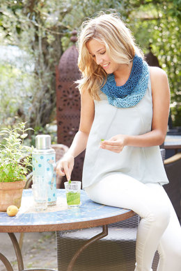 Infinity Scarf in Schachenmayr Batiko Sun - S9468 - Downloadable PDF