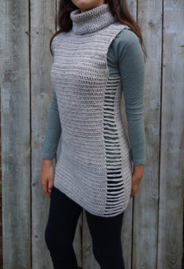 Ripped Sides Tunic