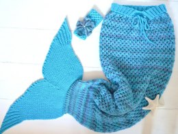 Meerjungfrauen Decke Stricken Loveknitting