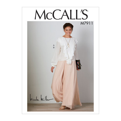 McCall's Misses' Top and Pants M7911 - Sewing Pattern