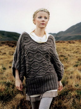 Iceland Dress in Rowan Cocoon