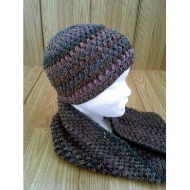 Bobble Hat and Cowl