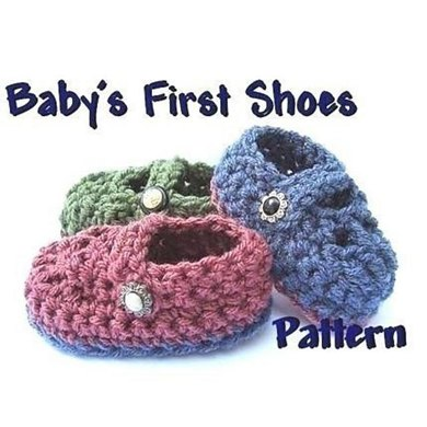 Baby's First Shoes | Crochet Pattern by Ashton11