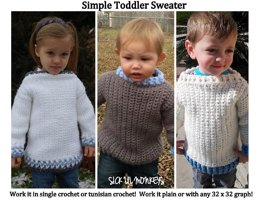 Simple Toddler Sweater