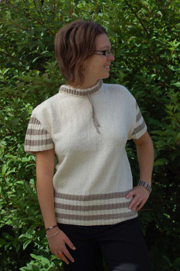 Draw String Pullover in Cascade Fixation - W133