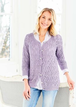Cardigan and Vest in Stylecraft Naturals Bamboo & Cotton DK - 9752 - Downloadable PDF