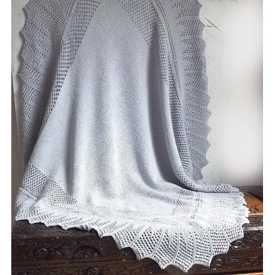 Simple, elegant baby blanket Knitting pattern by OGE Knitwear ...