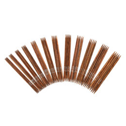 Knitter's Pride Ginger Double Point Needles Set 15cm (6in) (Set of 60)