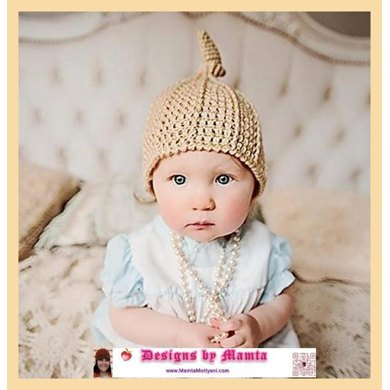 Crochet Top Knot Beanie Pattern For Newborn Babies Adults Women