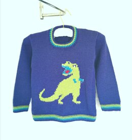 T-Rex on a Sweater