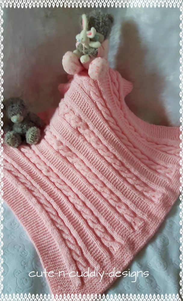 Addy Blanket Knitting Pattern By Cute N Cuddly Designs