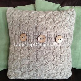 Cascading Cables Pillow