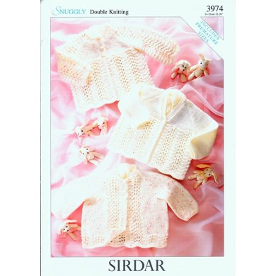 Matinee Coats in Sirdar Snuggly DK - 3974