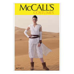 McCall's Misses' Costume M7421 - Sewing Pattern