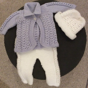 151c72498b12e7 Quick knit baby jacket