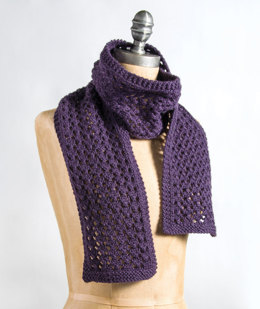 Quick & Easy Scarf in Blue Sky Fibers Extra