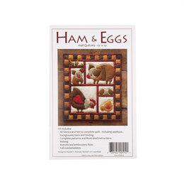 Rachel's Of Greenfield Ham and Eggs Quilt Kit
