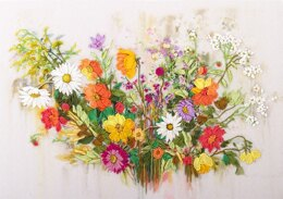 Panna The Colours of Summer Ribbon EmbroideryKit
