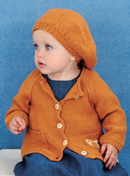 Jacket and Beret in Rico Baby Cotton Soft DK - 395 - Leaflet