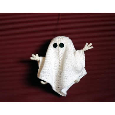 Halloween Ghost. Wire inside arms and legs.