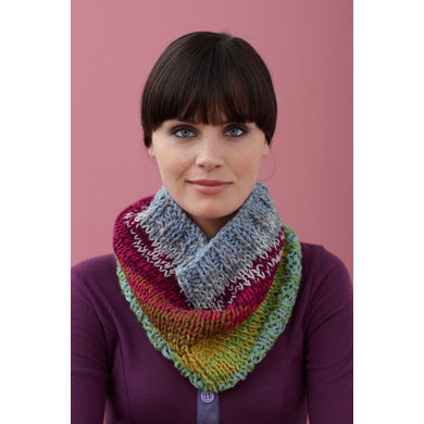 Cobbs Mill Cowl in Lion Brand Cotton-Ease - 90585AD