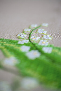 Vervaco Tablecloth Lily of the Valley