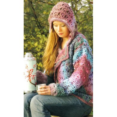 Crochet Pattern for Jacket with Hood